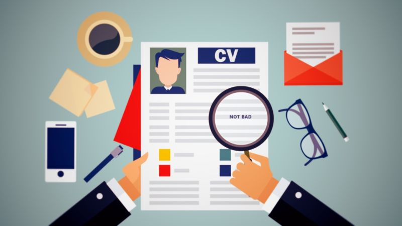 Analyzing a CV